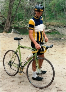 North Carolina about 1992.  The tri-bars did not stay for long.