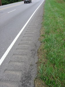 Hostile rumble strip